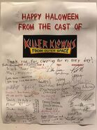 Killer Klowns From Outer Space Cast List (Orlando)