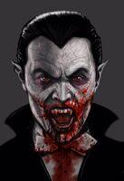 Count Dracula Close-Up Concept Art