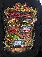 HHN 28 True Fear Comes From Within House Shirt -Back- -From HorrorUnearthed-