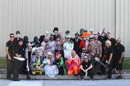 Horror Nights- The Hallow'd Past cast
