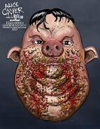 Gluttony Pig Close Up