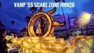 (2016) HHN26 Scare Zone Vamp '55 Halloween Horror Nights Universal Studios Florida