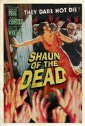 Silver Screams Shaun of the Dead poster