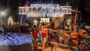 UNIVERSAL STUDIO'S ORLANDO HALLOWEEN HORROR NIGHTS 2018 ALL SCARE ZONES Tripping With My Bff