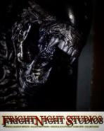 """Screenshot 2020-10-15 FrightNight Studios, LLC on Instagram """"ALIEN PUPPET created for the ALIENS vs PREDATOR house at Unive-...-"""