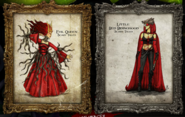 Evil Queen and Red Riding Hood