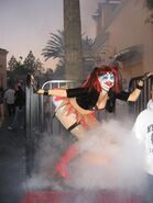 HHN 2007 Hollywood Clown