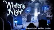 "HHN 21- ""Winter's Night- The Haunting of Hawthorn Cemetery"" House Preview"