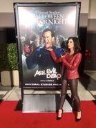 Dana Delorenzo at HHN 2017 Hollywood