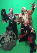 Swamp Zombie,Scarecrow,Succubus,Bone Minion