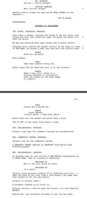 Alternate Ending of Halloween 2018 Script Part 1