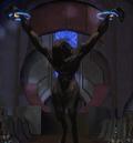 Thel despojado de su armadura