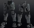 H4 Over-locking Legs 3d model