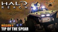 Halo Reach MCC PC Walkthrough - Mission 4 TIP OF THE SPEAR (Sub ITA)
