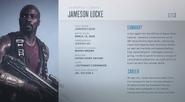 Jameson Locke descripcion