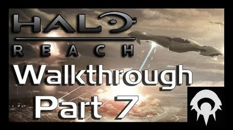 Halo- Reach Walkthrough - Part 7 - Long Night of Solace Part 2 - No Commentary