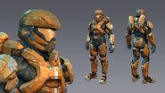 H4 Recruit 3d model