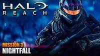 Halo Reach MCC PC Walkthrough - Mission 3 NIGHTFALL (Sub ITA)