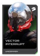 H5G REQ card Vector Interrupt-Casque