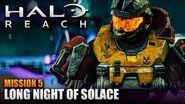 Halo Reach MCC PC - Walkthrough - Mission 5- LONG NIGHT OF SOLACE (Sub ITA)
