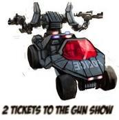 2 Boletos para el Show de Pistolas