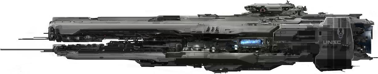 UNSC Schwere Fregatte der Strident-Klasse