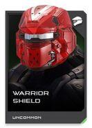 H5G REQ card Warrior Shield-Casque