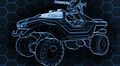Schematics of a M12 Warthog LRV