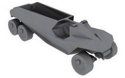 Warthog de Transporte Personal Blindado