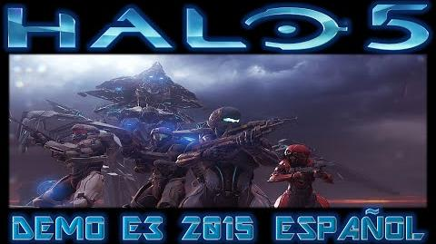 Demo de Halo 5: Guardians en la E3 2015