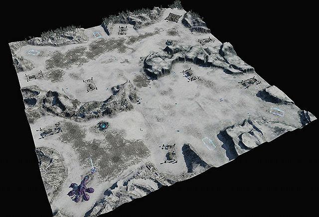 Barranco glacial (mapa)
