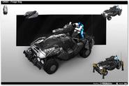 Warthog de Forge concepto de arte HW2