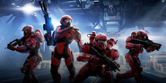 PARTAN-IV - Halo 5 Training Simulation