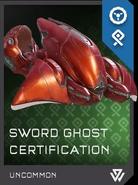 Ghost Tipo-54 REQ Espadas de Sanghelios Certificación H5G