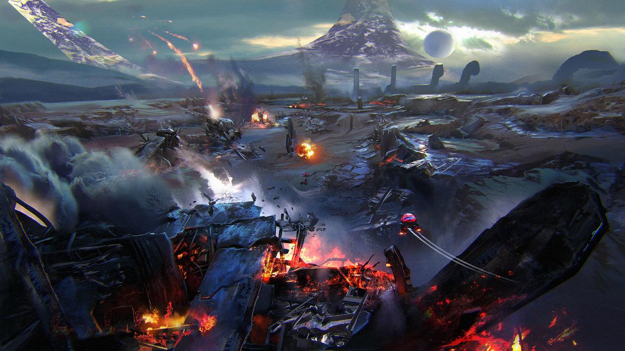 Ashes (Halo Wars 2 level)