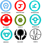 Symbols of Notable Forerunners