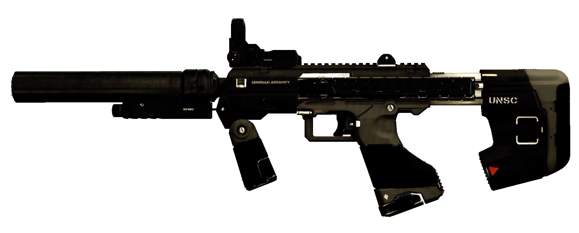 M7S Caseless Submachine Gun