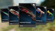 Tarjetas REQ Monitor's Bounty HG5-6