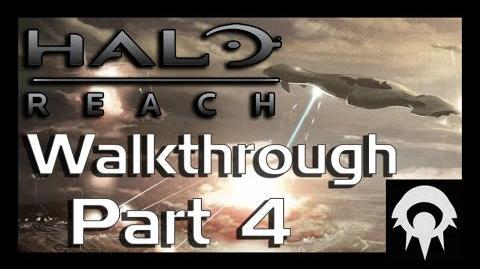 Halo- Reach Walkthrough - Part 4 - Nightfall - No Commentary