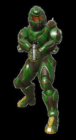 Armadura Potenciada de Asalto MJOLNIR/Variante Void Dancer