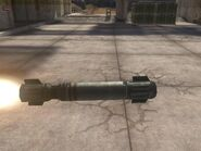 102mm SC-HE Rakete