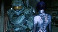 Cortana y el jefe