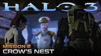Halo 3 PC Walkthrough - Mission 2 CROW'S NEST (Sub ITA)