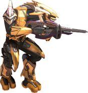 Sangheili armadura amarilla