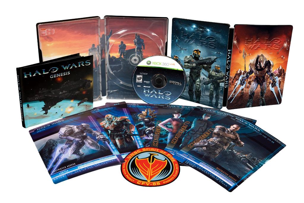 Halo Wars Edición de Coleccionista