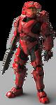 H5GMB Armor Mark VI GEN1 Scarred
