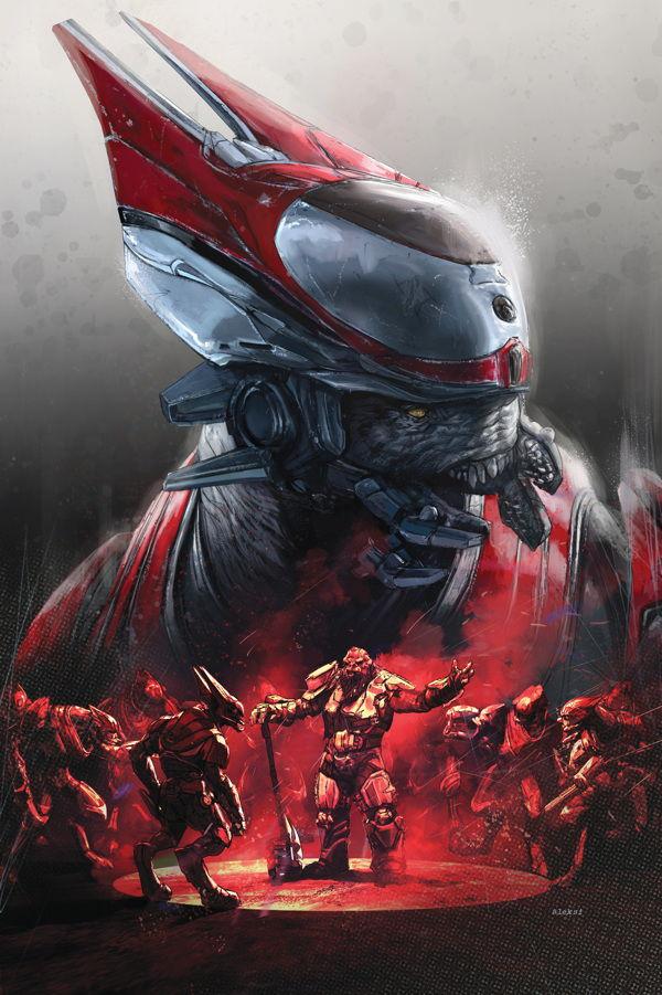 Halo: Rise of Atriox Issue 4