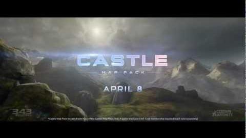 Halo 4 - Paquete De Mapas Castle Trailer.