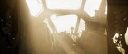 Crashed Pelican cockpit - Halo Infinite