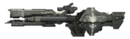 HaloReach - UNSCFrigateSide